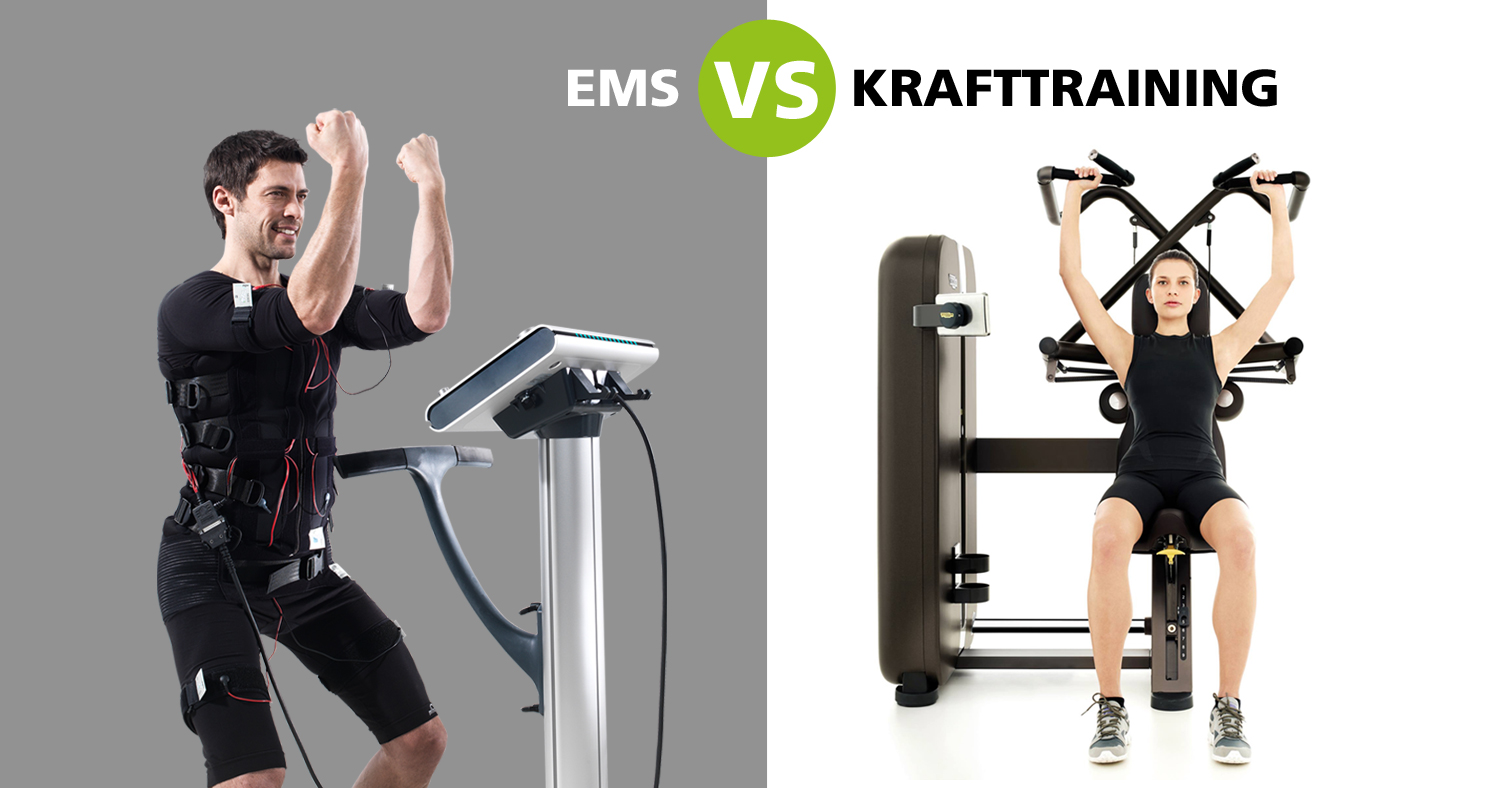 EMS vs Krafttraining